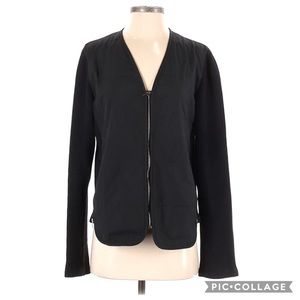 Armani Collezioni Authentic Quilted Zip Up Jacket